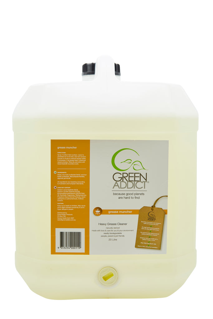 Grease Muncher - Natural Oven and Grill DeGreaser and Cleaner