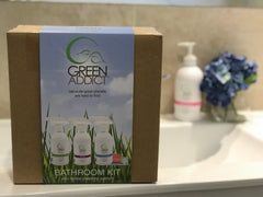 Eco Cleaning Bathroom Kit
