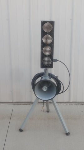 North Star LED Start Light with Stand and Cable and Speaker