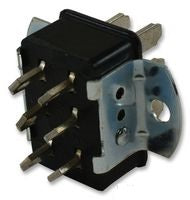 6 Pin Cinch Connector- Panel Mount. Male