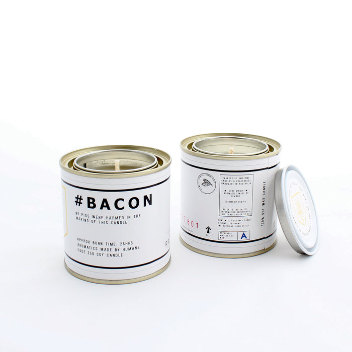 #BACON | Code Manly, Scented Candle