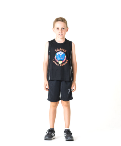 T-Shirt Black sleeveless