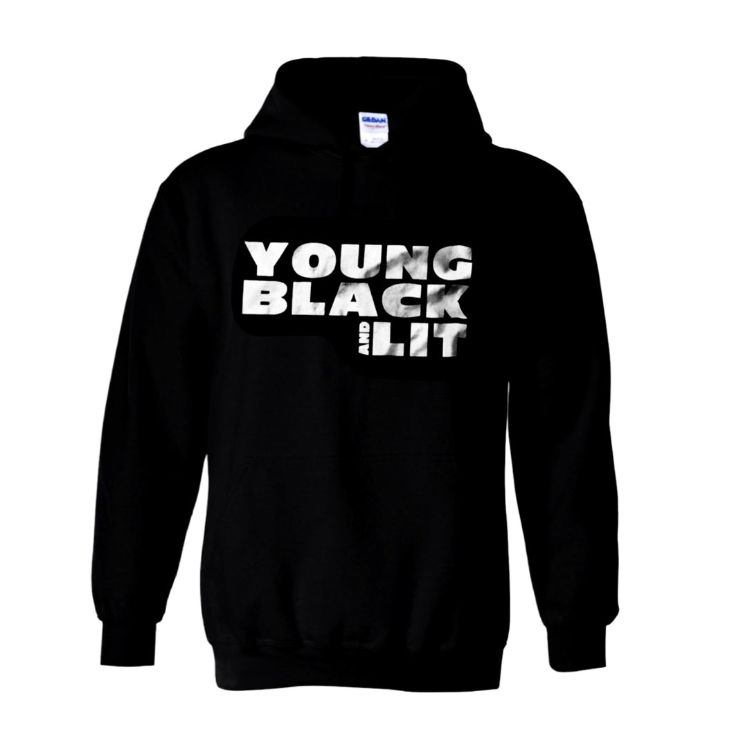 Young Black And Lit - Hoodie