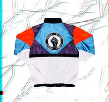 "Load image into Gallery viewer, Hella Black. Hella Proud. ""Miami Vice"" Windbreaker"