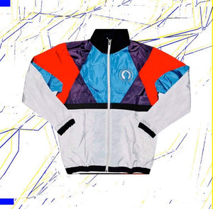 "Hella Black. Hella Proud. ""Miami Vice"" Windbreaker (Clearance)"