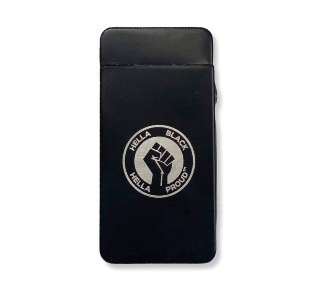 Hella Black Hella Proud. Electronic USB Rechargeable Lighter