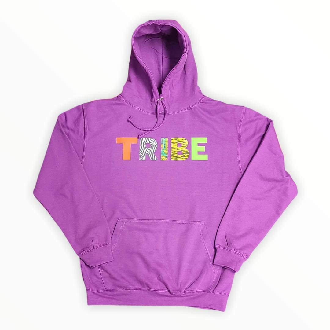 "TRIBE Safari ""Magenta Magic"" Hoodie"
