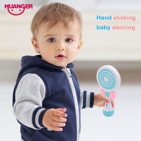 Huanger Music Lollipop Rattle