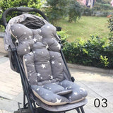 Patterned Stroller Cushion