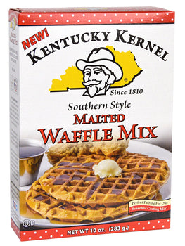 Delicious New Malted Waffle Mix from Kentucky Kernel!