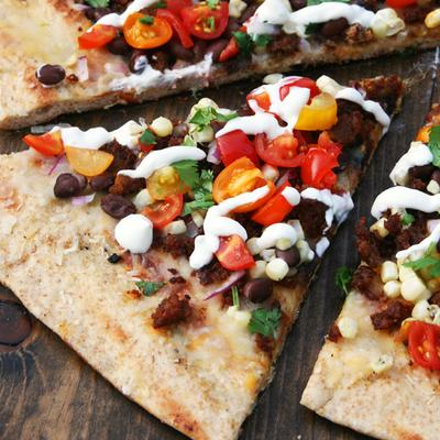 Mexican Grilled Pizza