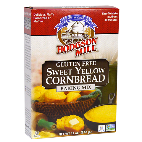 Gluten Free Sweet Yellow Cornbread Mix
