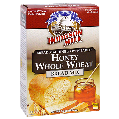 Honey Whole Wheat Bread Mix