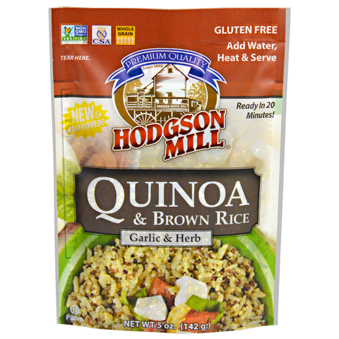 Quinoa & Brown Rice - Garlic & Herb
