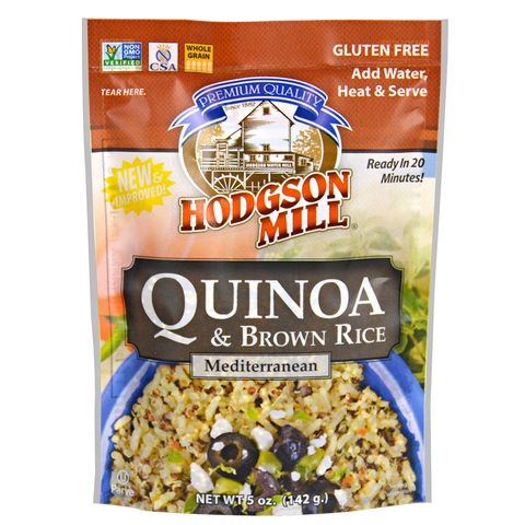 Quinoa & Brown Rice - Mediterranean