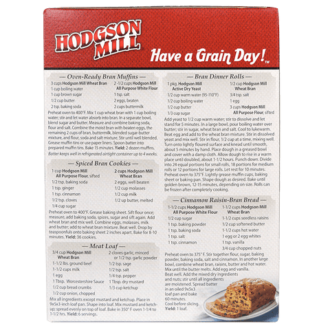 Wheat Bran, Unprocessed - Millers Bran