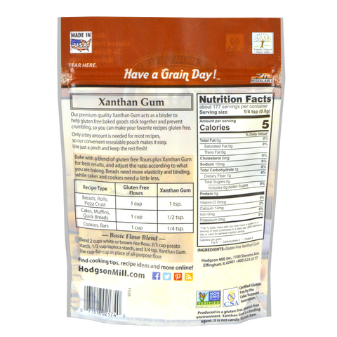 Xanthan Gum - Resealable Pouch