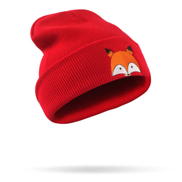 baf782f3276 Funny Fox Embroidery Pattern Hat – Fly Wall Spits