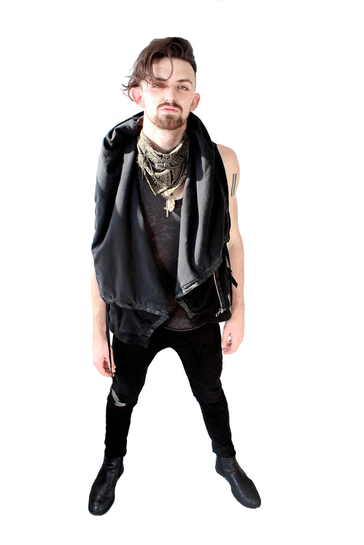Road Warrior Hooded Vest