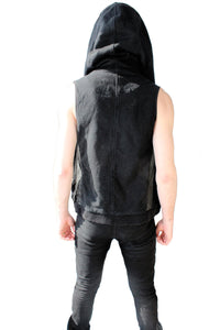 The Road Warrior Hooded Vest