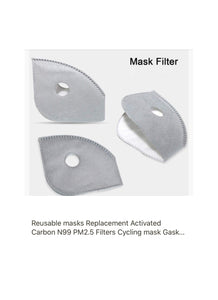 N99 Mask Filter replacements