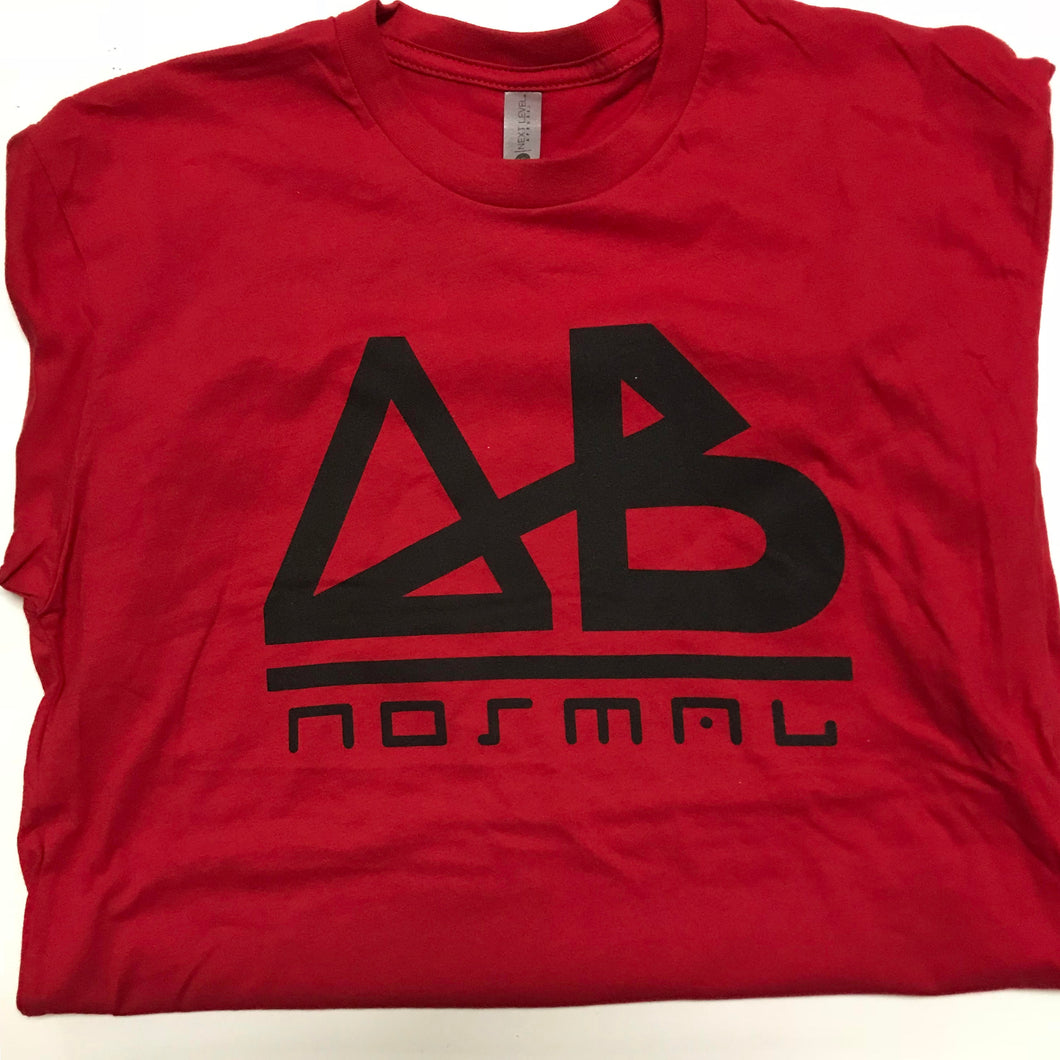 ABnormal Classic Tee (Red & Black)