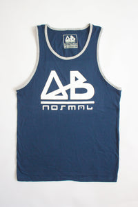 Navy ABnormal Tank Top