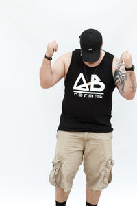 Black ABnormal Tank Top