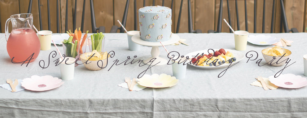 PARTY ET CIE EVENTS - A SWEET SPRING BIRTHDAY PARTY