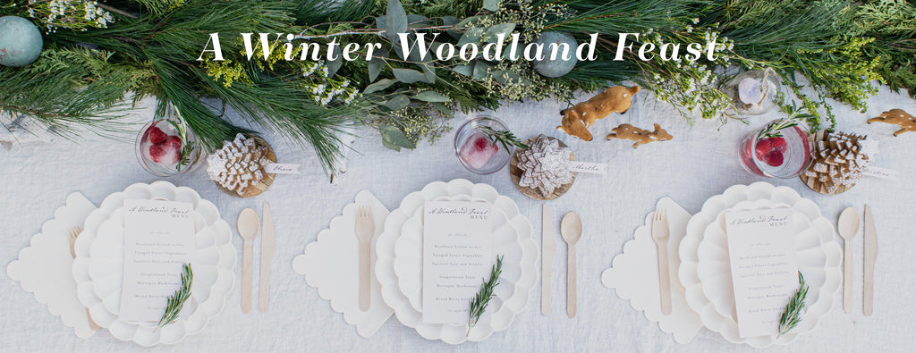 PARTY ET CIE EVENTS - A WINTER WOODLAND FEAST