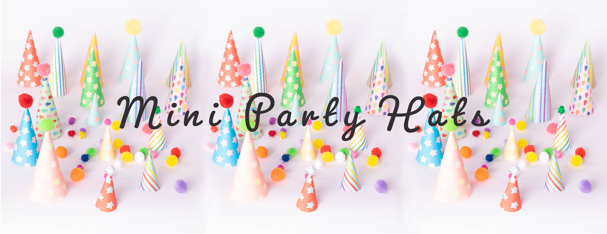 DIY - MINI PARTY HATS