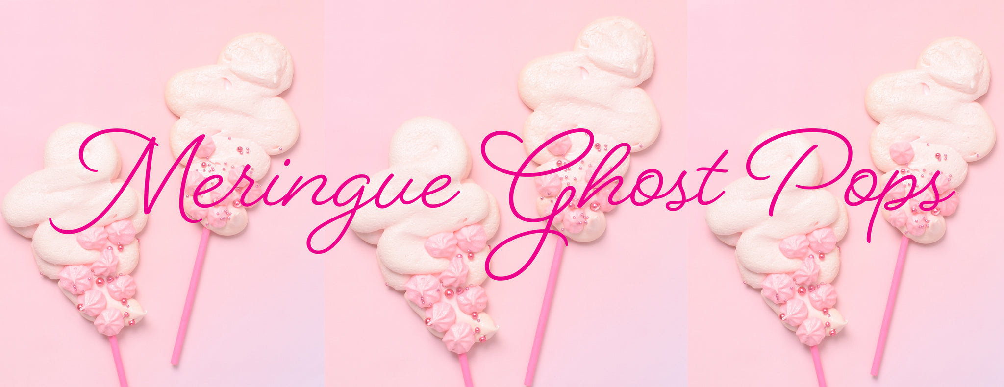 PARTY ET CIE BAKES - MERINGUE GHOST POPS