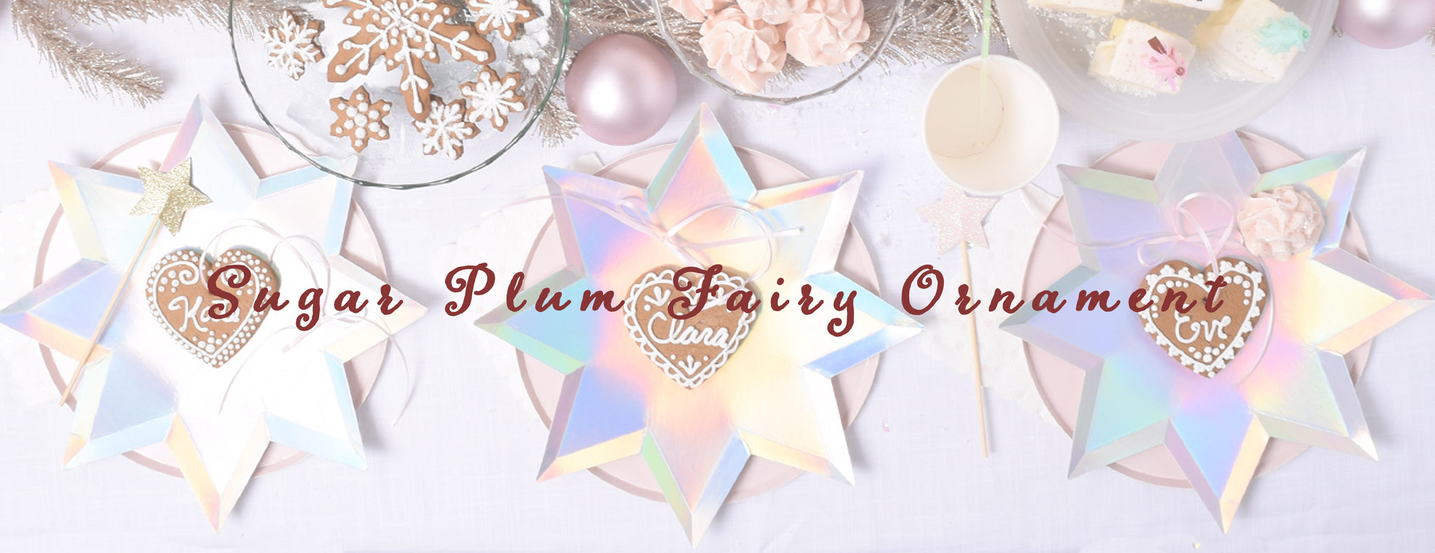 DIY - SUGAR PLUM FAIRY ORNAMENT