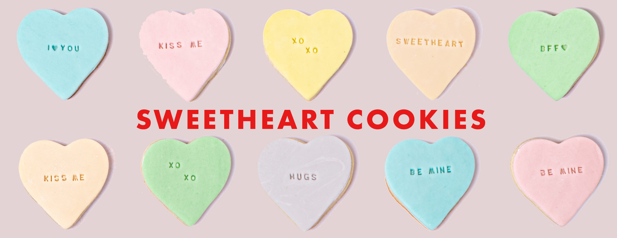 PARTY ET CIE BAKES - SWEETHEART COOKIES