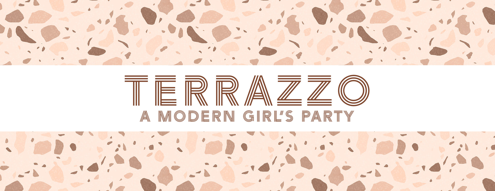 PARTY ET CIE EVENTS - TERRAZZO - A MODERN GIRL'S PARTY