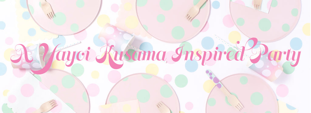DIY - A PASTEL YAYOI KUSAMA INSPIRED PARTY