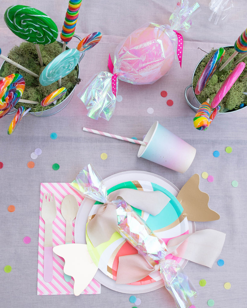 Party et Cie - Candyland Party Placesetting