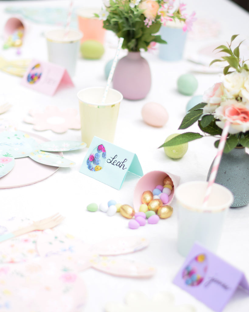 Party et Cie - Easter Egg Shaker Place Cards