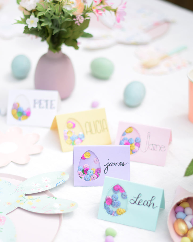 Party et Cie - Easter Egg Shaker Place Cards2