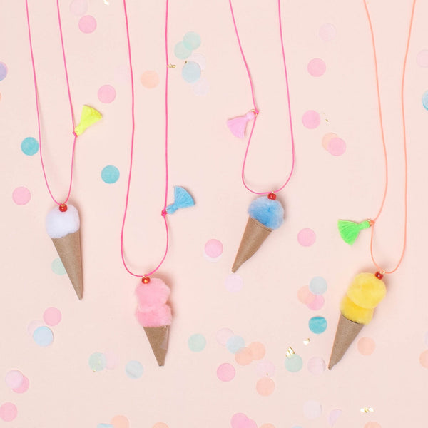 Party et Cie - Ice Cream Necklaces