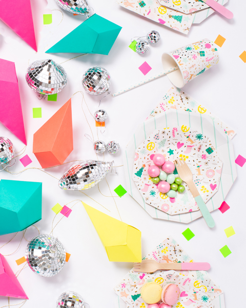 Party et Cie - Geometric Paper Ornaments