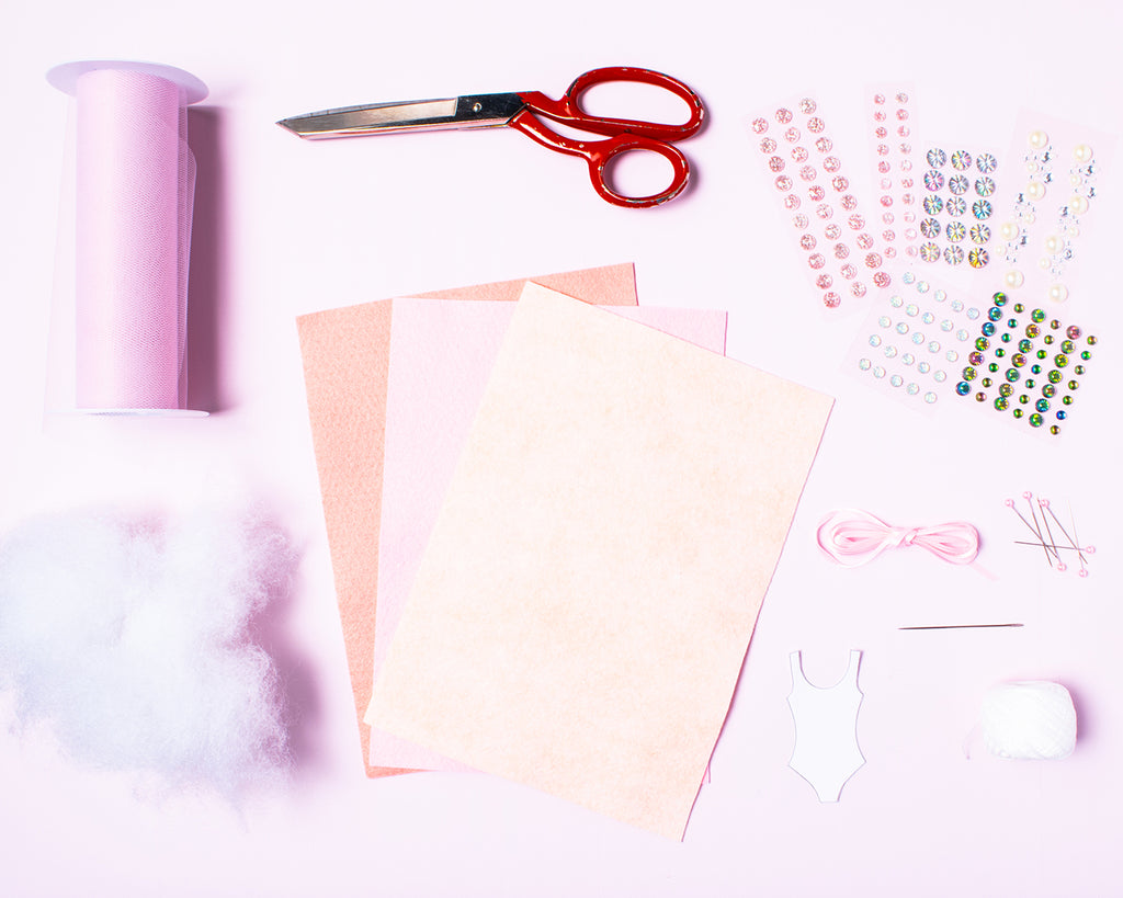 Party et Cie - Sugar Plum Fairy Ornament Materials