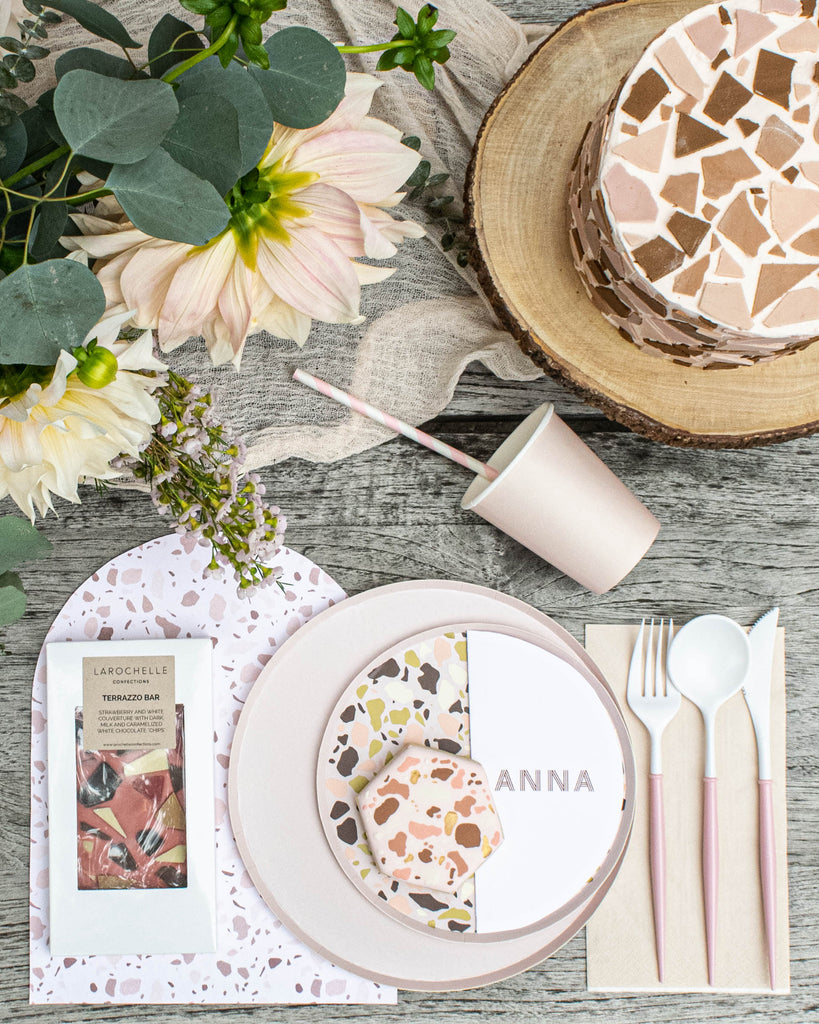 Terrazzo Party Place Setting