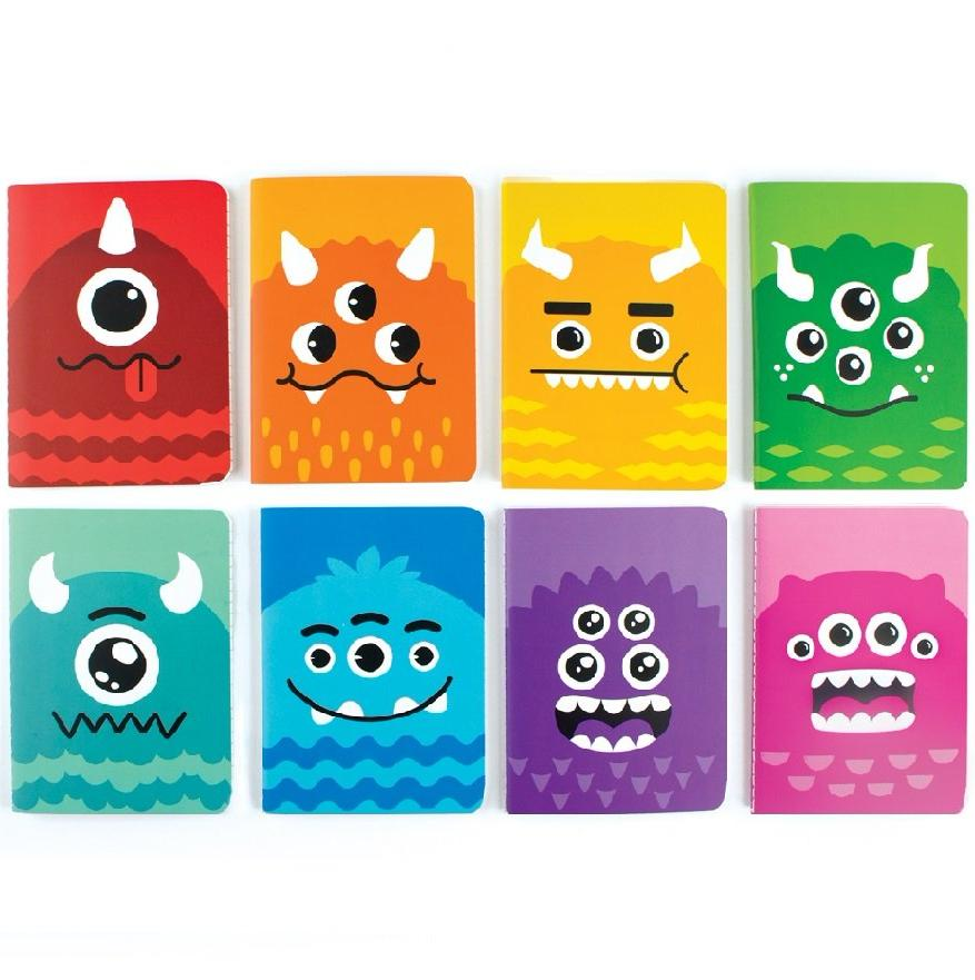 MINI NOTEBOOKS - MONSTERS