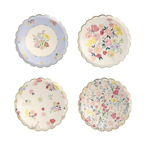 ENGLISH GARDEN LUNCHEON PLATES