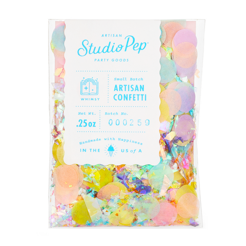 Pastel and Iridescent Confetti