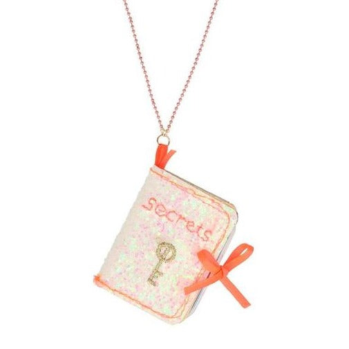 SECRETS BOOK NECKLACE