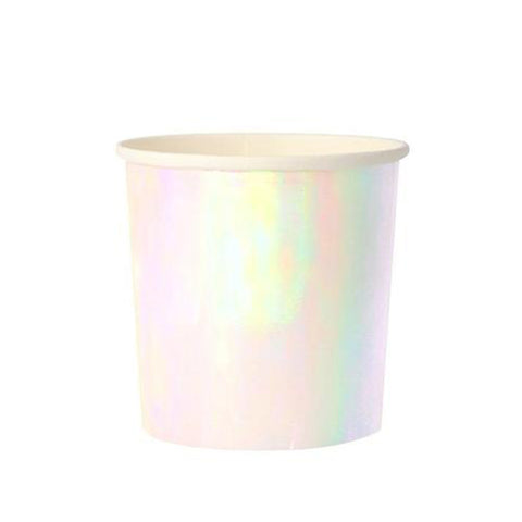 Iridescent Tumbler Paper Party cup