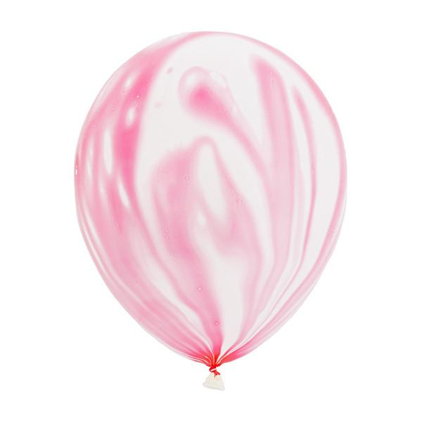 MARBLE BALLOONS - PINK