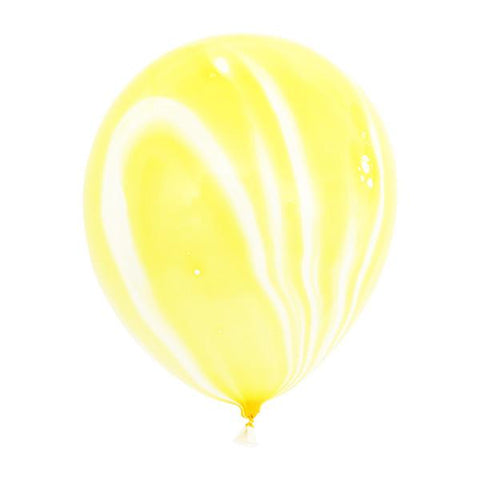 MARBLE BALLOONS - YELLOW